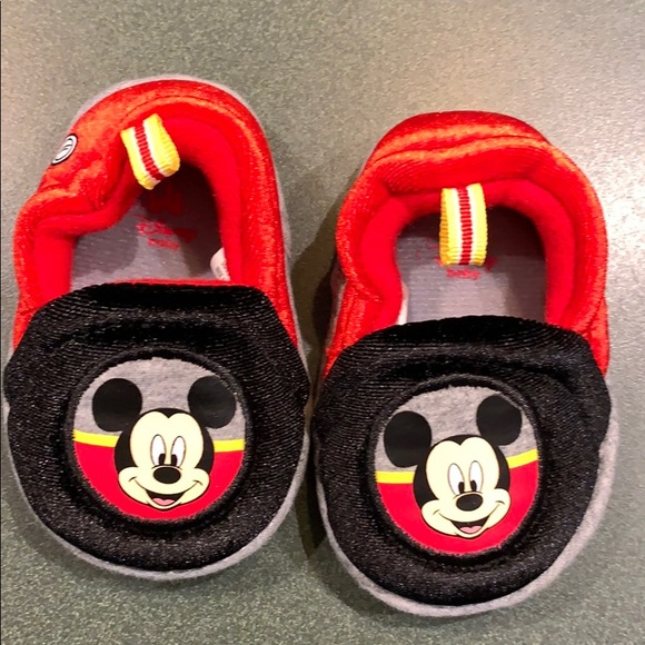 Disney Baby Mickey Mouse Slippers